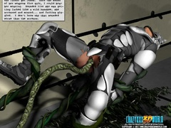 Two military 3d hotties decided to have some lesbian - Picture 4