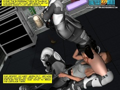 Two military 3d hotties decided to have some lesbian - Picture 13