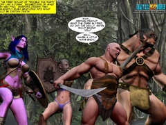 Redhead 3d elf chick with awesome boobs willingly - Picture 14