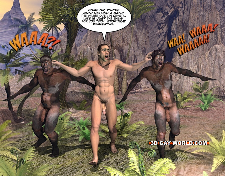 Men Foxy hung gay well