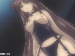 Bdsm art pics os naked brunette hentai beauty gets her - Picture 10