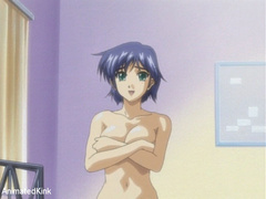 Sexy shaped anime chick and her lover trying 69 position - Picture 4