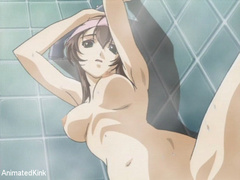 Perfect breast brunete anime babe willingly blowing hard - Picture 15