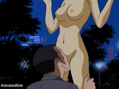 Captured in the park young manga beauty gets her pussy - Picture 5