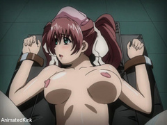Bdsm art pics of bound hentai cutie with big breasts - Picture 4