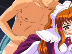 Lucky anime dude undressed and involved two gorgeous - Picture 6