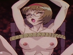 Xxx bdsm art pics naked hentai babe in  tough bondage - Picture 15