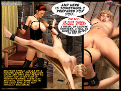3d blonde slave girl forced to fullfill - BDSM Art Collection - Pic 6