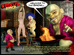 Gag balled and hanged 3d blonde bimbo - BDSM Art Collection - Pic 1