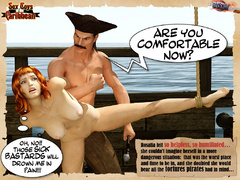 Captured by pirates redhead nude 3d - BDSM Art Collection - Pic 7