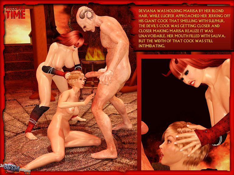 Sexy hungry devil one and his perverted - BDSM Art Collection - Pic 3