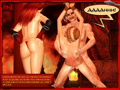 Sexy hungry devil one and his perverted - BDSM Art Collection - Pic 6