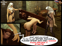 Two 3d naked babes in stay ups - BDSM Art Collection - Pic 3
