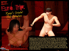 Tied up naked 3d babe hanged by her - BDSM Art Collection - Pic 1