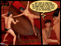 Tied up naked 3d babe hanged by her - BDSM Art Collection - Pic 3