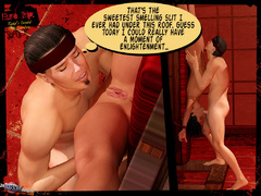 Tied up naked 3d babe hanged by her - BDSM Art Collection - Pic 4