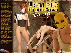 Masked 3d crazy guy and gis busty - BDSM Art Collection - Pic 1