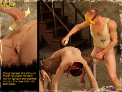 Masked 3d crazy guy and gis busty - BDSM Art Collection - Pic 10