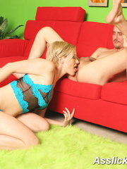 Xxx rimming pics of beautiful blonde in gree - XXXonXXX - Pic 18