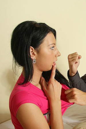 He shoots on her face after he aggressiv - XXX Dessert - Picture 3