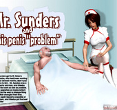 Sex starving 3d brunette nurse gets cum covered…