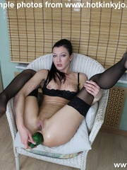 Ass fuck loving chick in black stocking - XXX Dessert - Picture 9