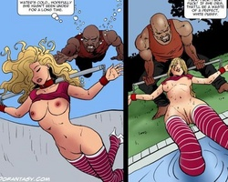 Blonde and redhead young stunners - BDSM Art Collection - Pic 4