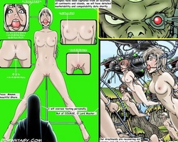 Perfect body toon chicks get enslaved - BDSM Art Collection - Pic 3