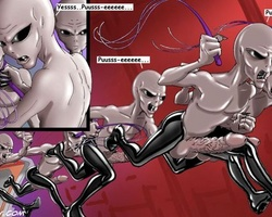 Perfect body toon chicks get enslaved - BDSM Art Collection - Pic 5