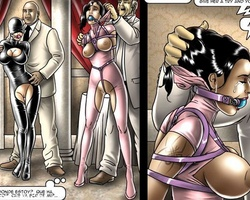 Enslaved young hotties gets ther tight - BDSM Art Collection - Pic 3