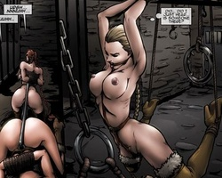 Cartoon slave chicks learns quickly to - BDSM Art Collection - Pic 2