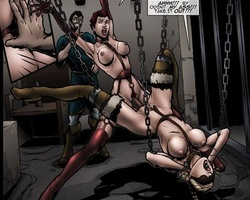 Cartoon slave chicks learns quickly to - BDSM Art Collection - Pic 3
