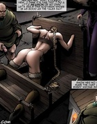 Bdsm art pics of captured barbarian hotties gets…