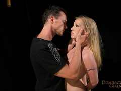 Cruel master tortures his blonde slave very hard when - Picture 2