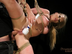 Cruel master tortures his blonde slave very hard when - Picture 11