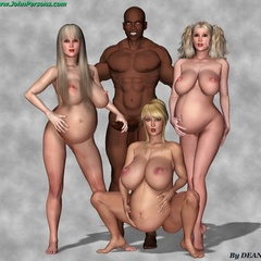 Xxx 3d intterracial porn pics of dirty white chicks - Picture 2