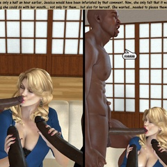 3d blonde milf with perfect breasts can't believe she - Picture 2