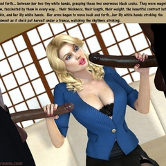 Big boobs 3d blonde milf can't believe she gonna - Picture 1