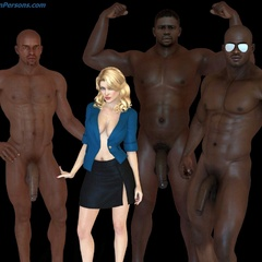 Xxx interracial 3d porn pics of naughty white bibmbos - Picture 3