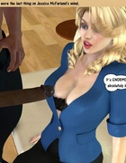 Black cum loving 3d white nymphs are feeling…