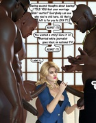 Naked 3d black horny guys feeling naughty and gonna gangbang innocent