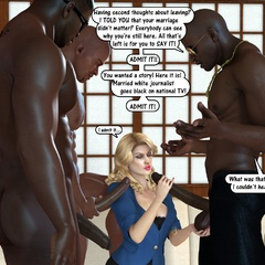 Naked 3d black horny guys feeling naughty and gonna - Picture 3