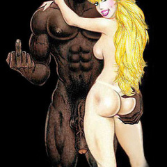 Interracial toon porn pics of nasty blonde with apple - Picture 3