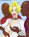 Black guys can't resist sexy white slutty teacher…