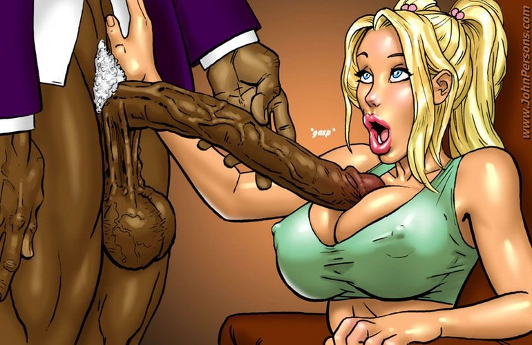 Perfect ass and booty cartoon blonde forced to plese - Picture 2