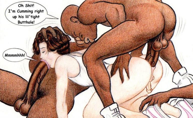Nude cartoon people getting fuckes