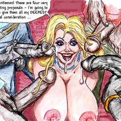 Big tits blonde cartoon molf need at least two huge - Picture 4