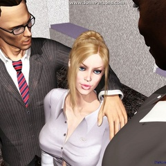 Redhead toon tutor babe willingly showing her blowjob - Picture 4