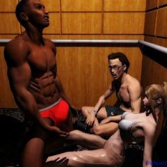Xxx interracial toon porn pics of white hotties goign - Picture 2