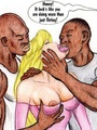 Black cun hungry cartoon blonde slut - Picture 2